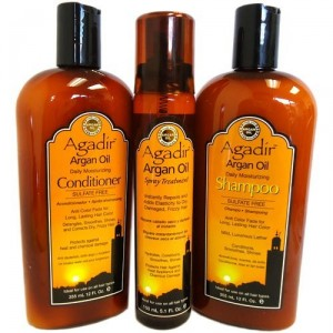 argan oil shamp cond spray oil